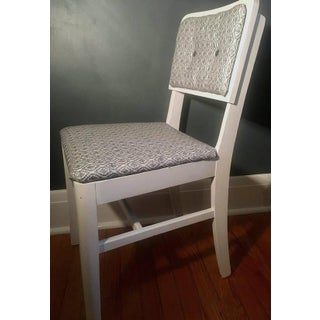 Upholstered and Painted Wooden Side Chair Preview