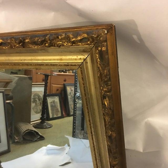 Carved Gold Framed Mirror - Image 4 of 8