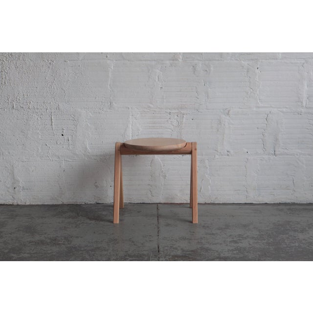Mid-Century Modern TGM Stool For Sale - Image 4 of 5