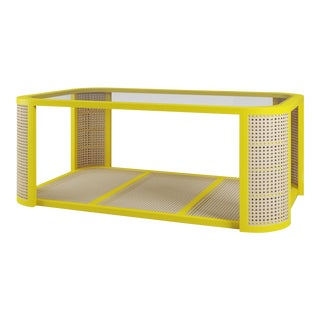 Lola Coffee Table - Citron For Sale