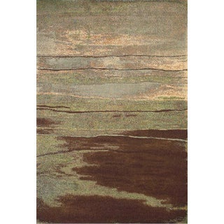 Rivington Chocolate Rug by Feizy - 8' x 11' For Sale