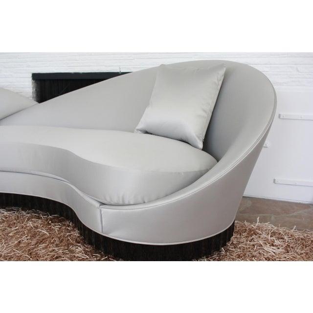 Contemporary Christopher Guy Courbé Sofa For Sale - Image 3 of 5