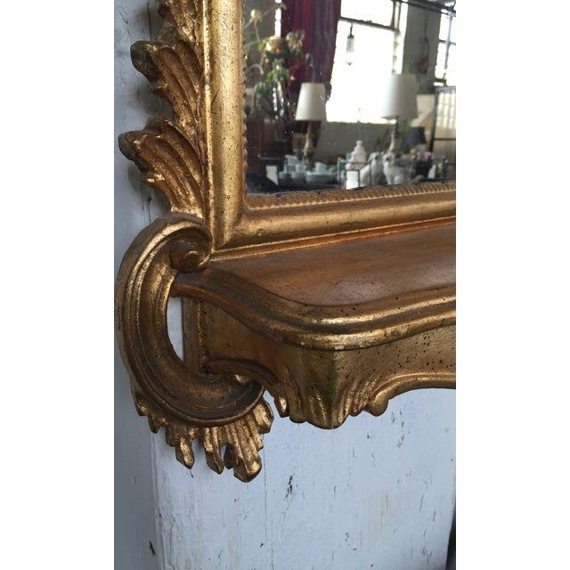 Italian Rococo Gilt Tall Mirror by La Barge - Image 4 of 10