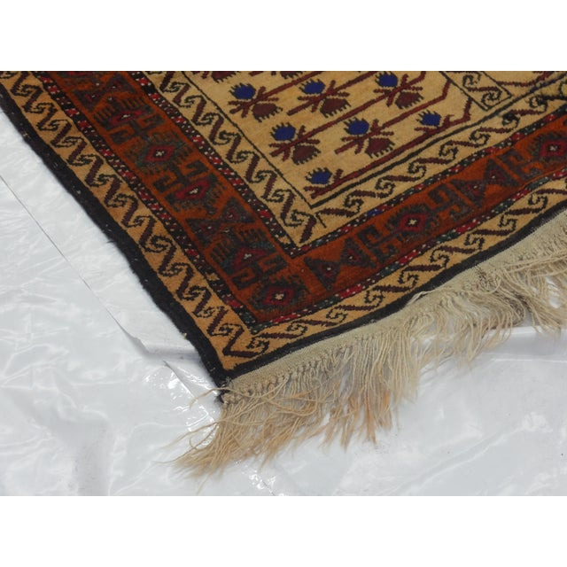 "Leon Banilivi Persian Baluch Rug - 3'5"" X 6'3"" For Sale - Image 5 of 5"