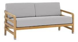 Image of Light Gray Outdoor Sofas