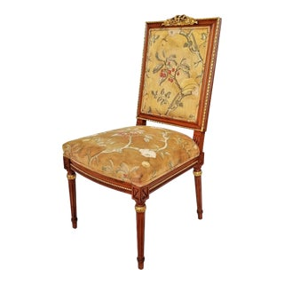 1960s Vintage Louis XVI French Directoire Style Chair For Sale