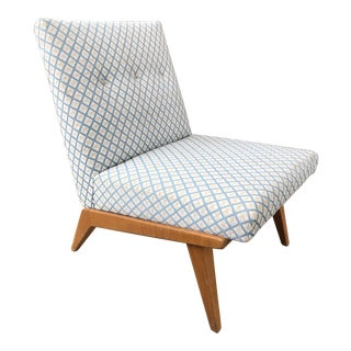 Vintage Mid Century Jens Risom Side Chair For Sale