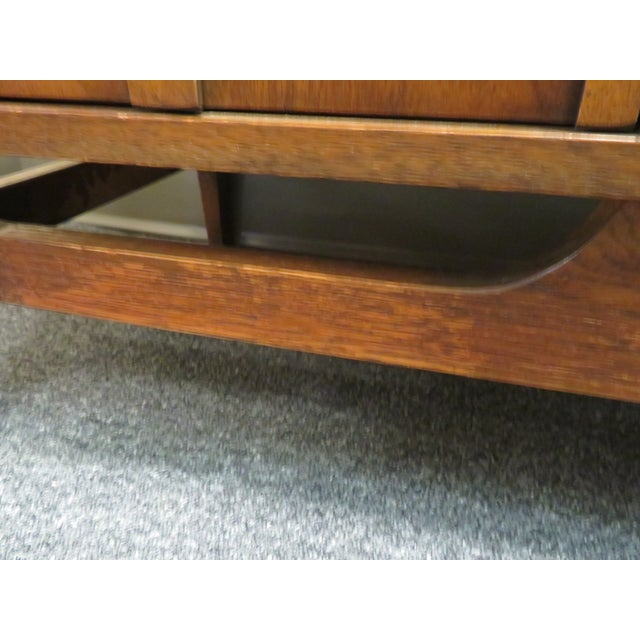 1960s Mid-Century Broyhill Brasilia Lowboy Credenza For Sale - Image 9 of 12