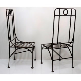 Giacometti Style Bronze Patina Occasional or Dining Chairs Preview