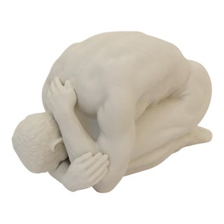 Male in Yoga Porcelain Figure