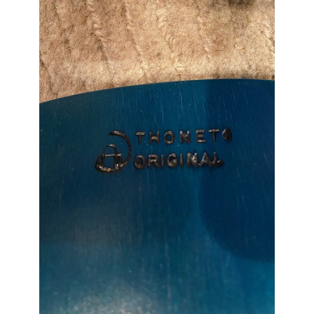 Vintage Thonet Children's Bent Wood Seat For Sale In Chicago - Image 6 of 11