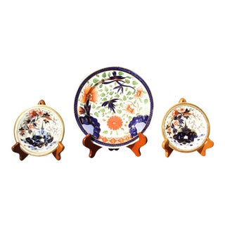 Early 19th Century Coalport Plates - Set of 3 For Sale