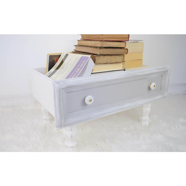 Gray and White Mounted Drawer/Storage Box - Pet Bed For Sale - Image 4 of 12