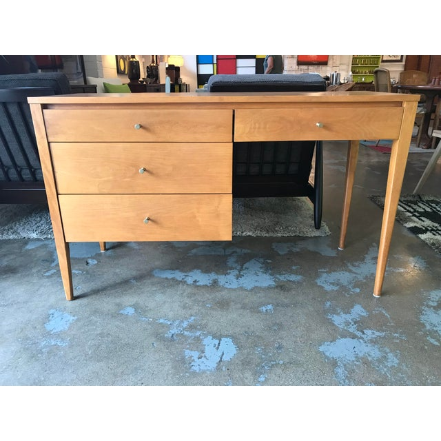 1950s Vintage Paul McCobb Planner Group Desk For Sale - Image 6 of 12