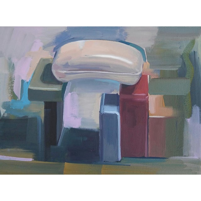 Contemporary Soaps (Bridge) Oil Painting For Sale - Image 3 of 3