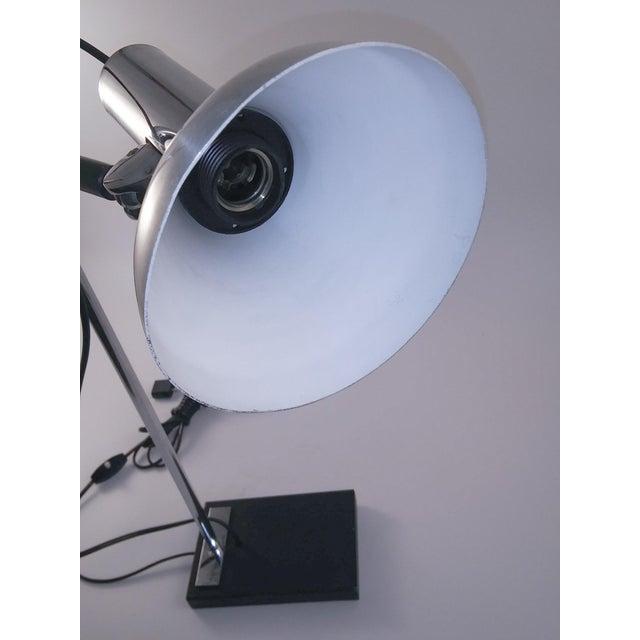 1960s European Chrome Desk Lamp For Sale - Image 4 of 9