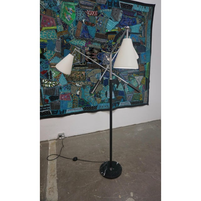 1960s 1960s Triennale Floor Lamp by Arteluce For Sale - Image 5 of 7