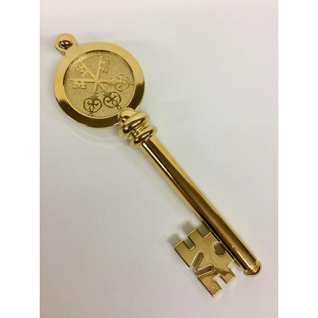 Swiss Bank Golden Key Letter Opener - Image 11 of 11
