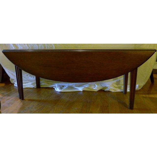 Kittinger English Oval Drop-Leaf Coffee Table - Image 2 of 8