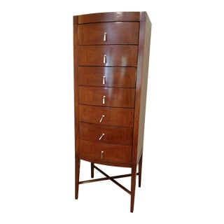 Art Deco Inspired Rosewood Chest of Drawers For Sale