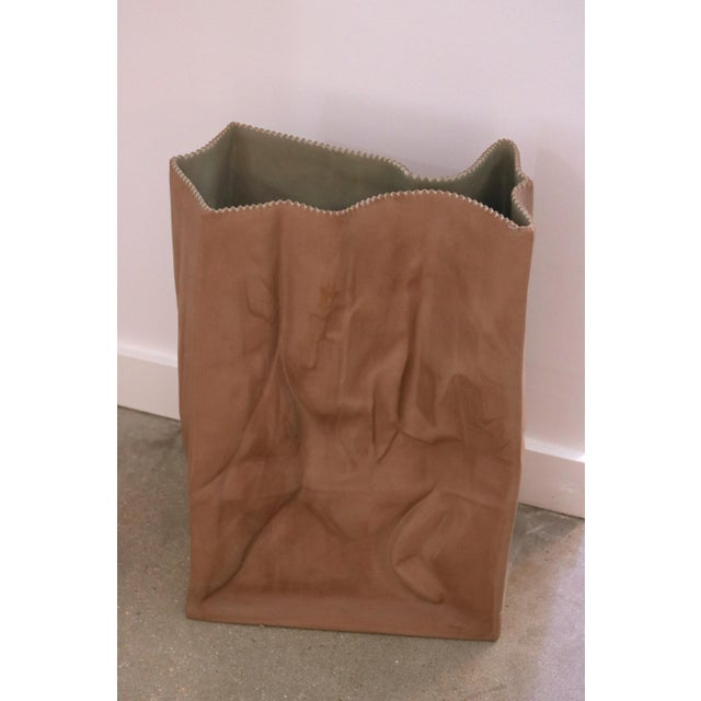 Paper Bag Vase from the Rosenthal DO NOT LITTER series designed by Tapio Wirkkala.