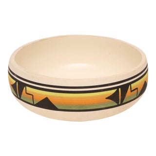 Ute Mountain Tribe Native American Pottery Bowl