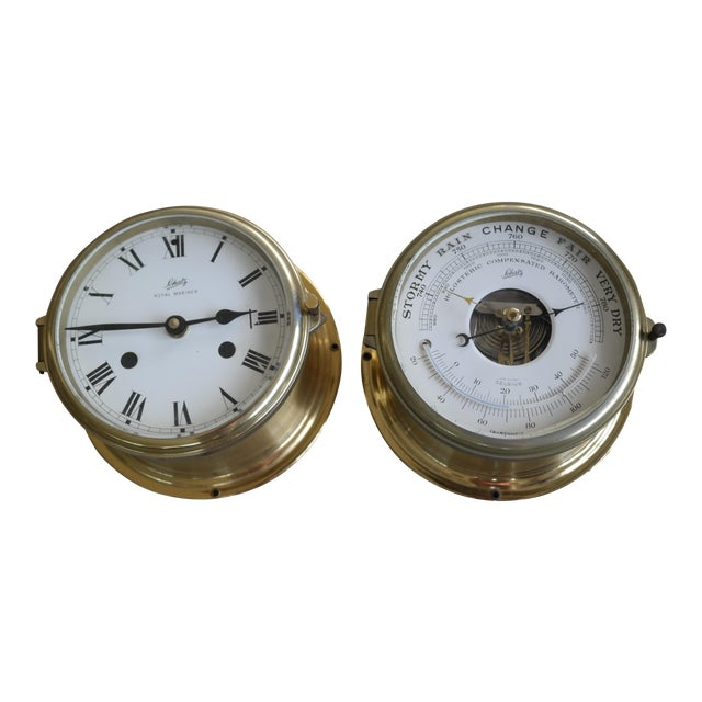 Schatz Maritime Clock and Weather Station - Image 1 of 7