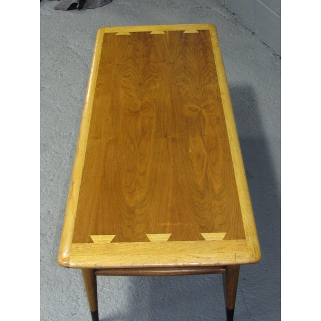 Lane Furniture Acclaim Series Coffee Table by Andre Bus for Lane For Sale - Image 4 of 7