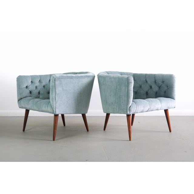 1960s 1960s Vintage Milo Baughman for Thayer Coggin Lounge Chairs - a Pair For Sale - Image 5 of 5