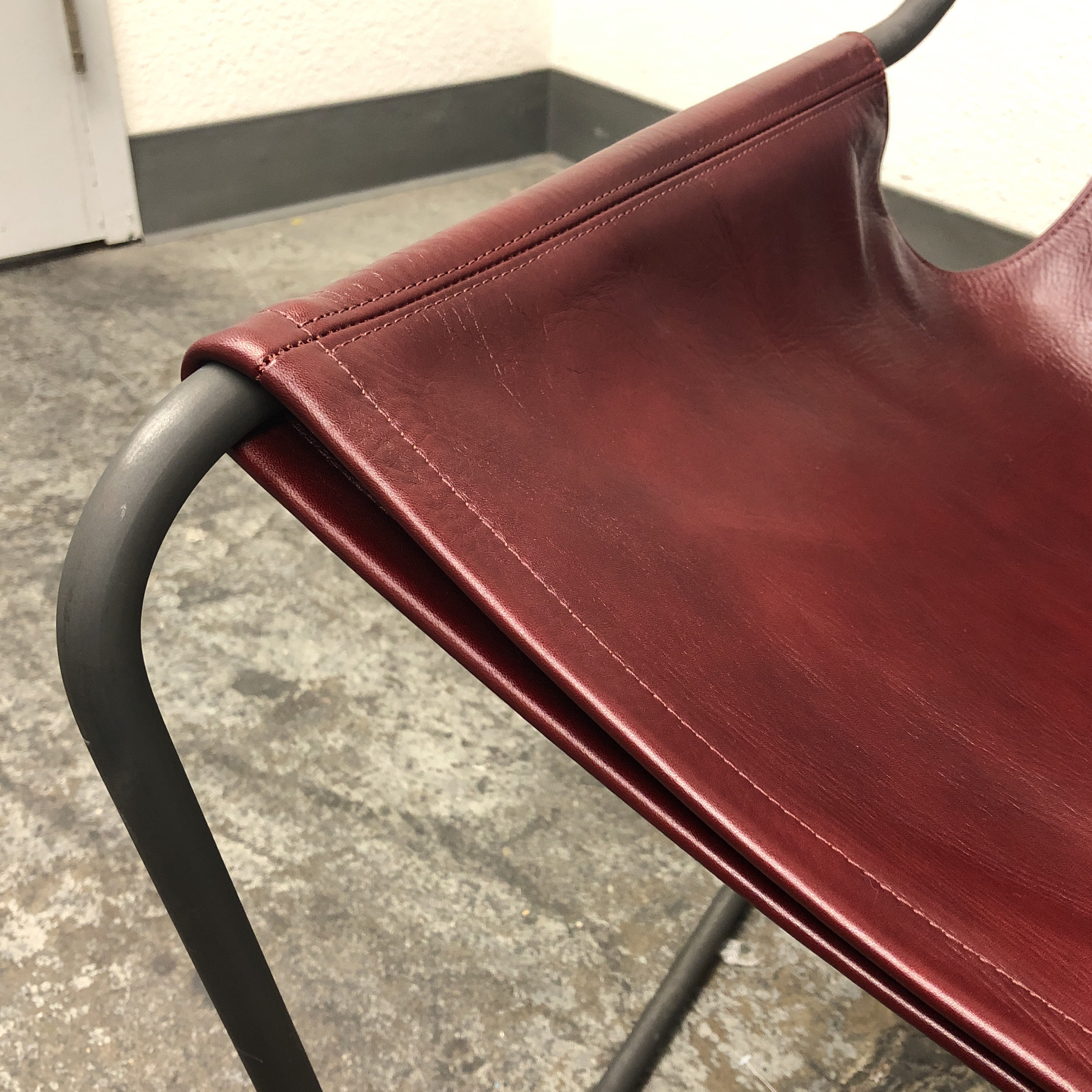 Paulo Mendes Da Rocha Paulistano Leather Armchair Chairish