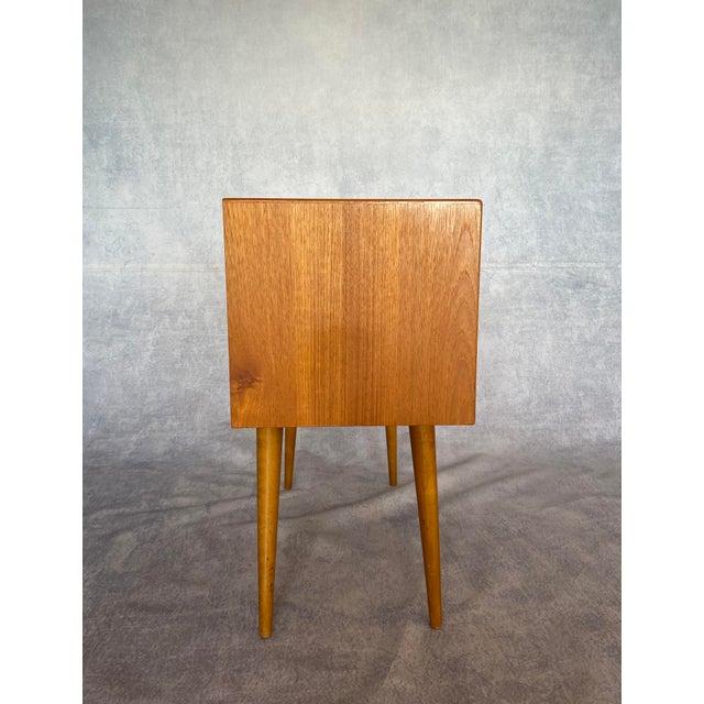Mid-Century Modern 1960s Vintage Scandinavian Mid Century Teak Lowboy For Sale - Image 3 of 9