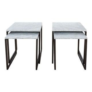 Modern West Elm Nesting Tables - Set of 4 For Sale