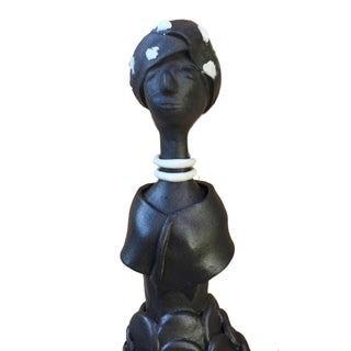 Ebony Figurative Female Sculpture Preview