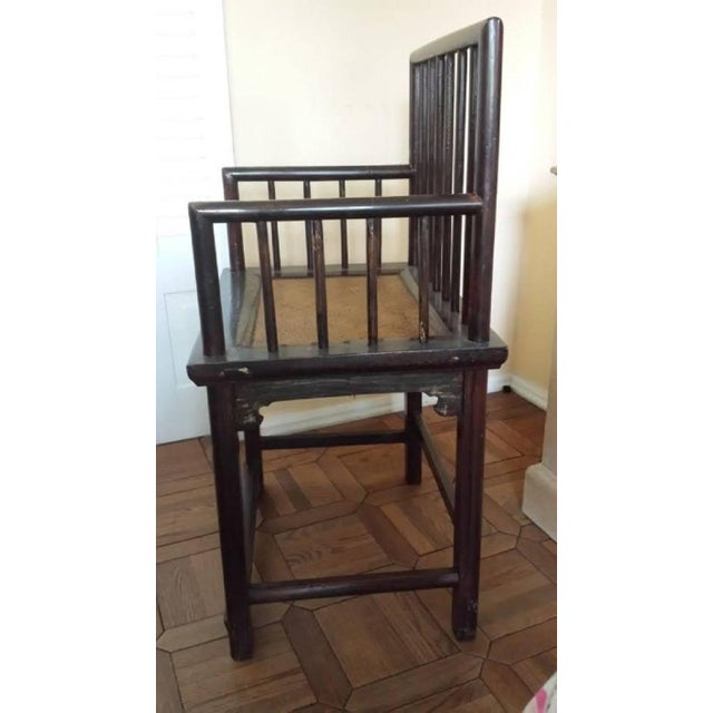 Chinese Huanghuali Style Chairs - Pair - Image 2 of 4