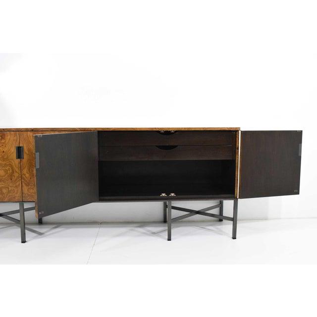 Burlwood Roger Sprunger for Dunbar Burled Olivewood Sideboard or Credenza For Sale - Image 7 of 13