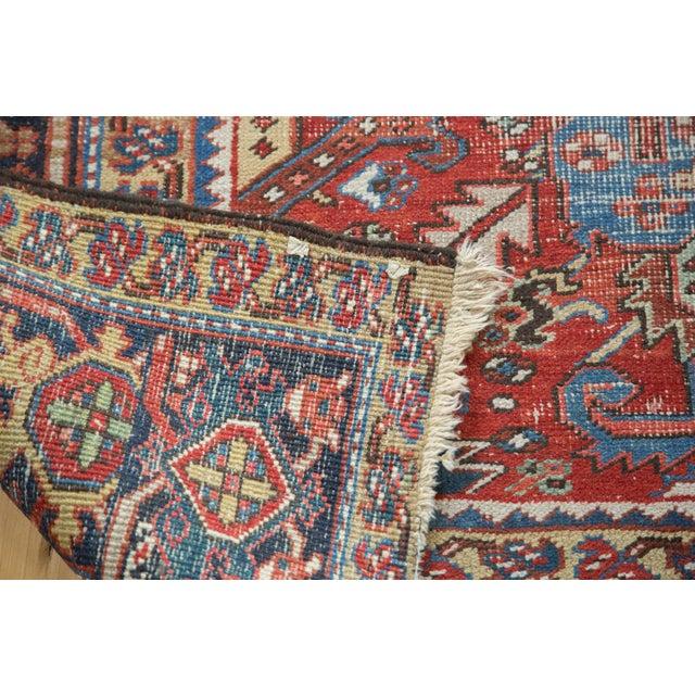 "Distressed Heriz Carpet - 8' X 11'2"" - Image 9 of 10"