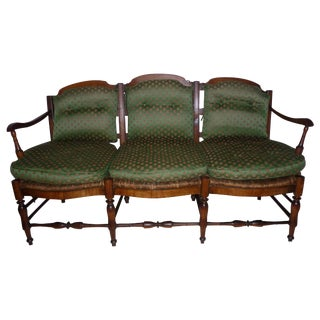 Country French Settee C. 1780-1820 For Sale