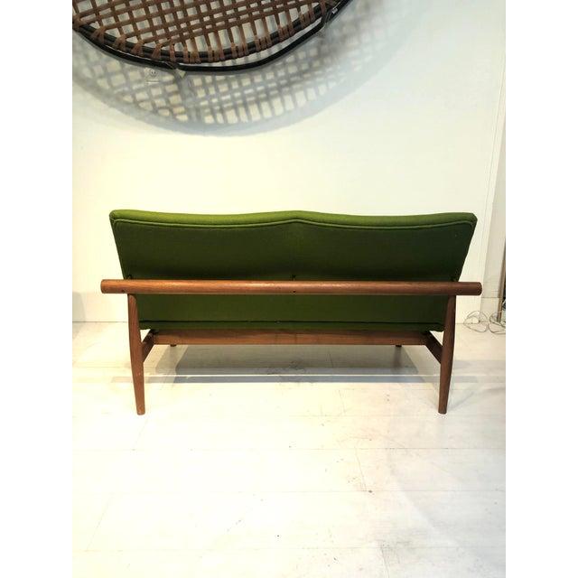 Japanese 1950s France & Son / John Stuart Finn Juhl Sofa For Sale - Image 3 of 10