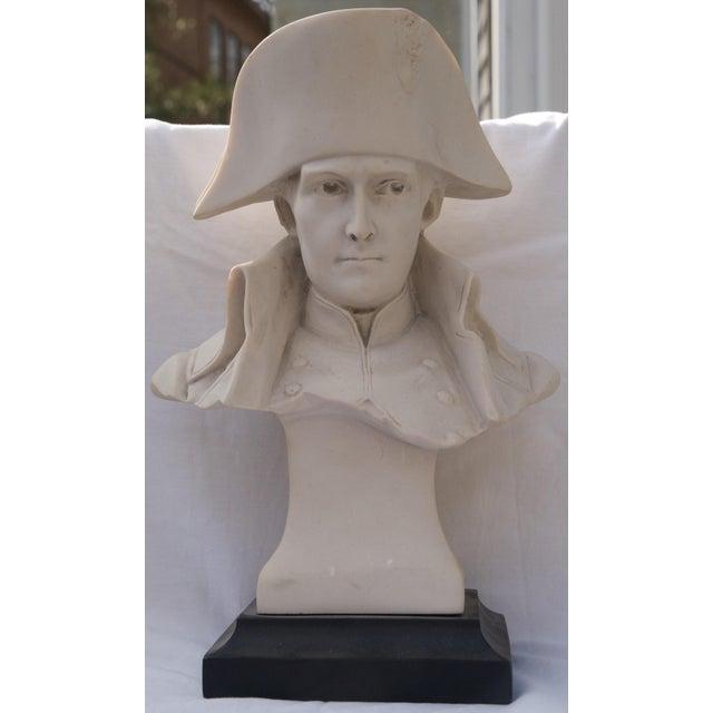 Antique Parian Bust of Napoleon Bonaparte For Sale - Image 4 of 13