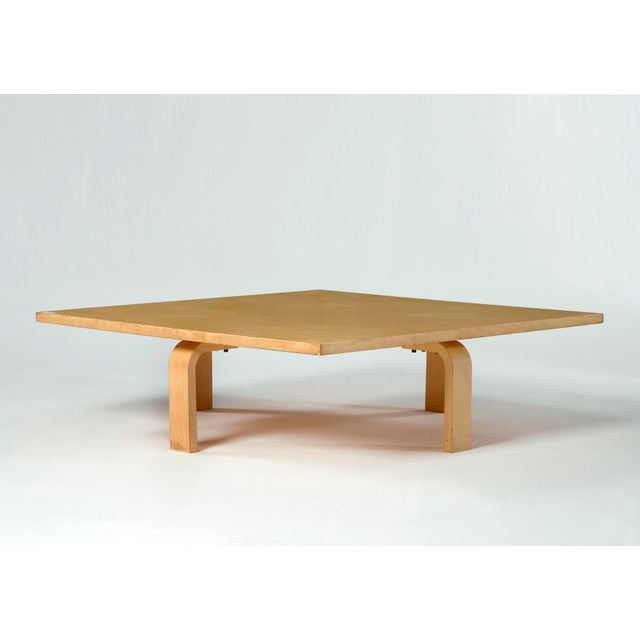 PK 66 laminated maple coffee table For Sale - Image 5 of 5