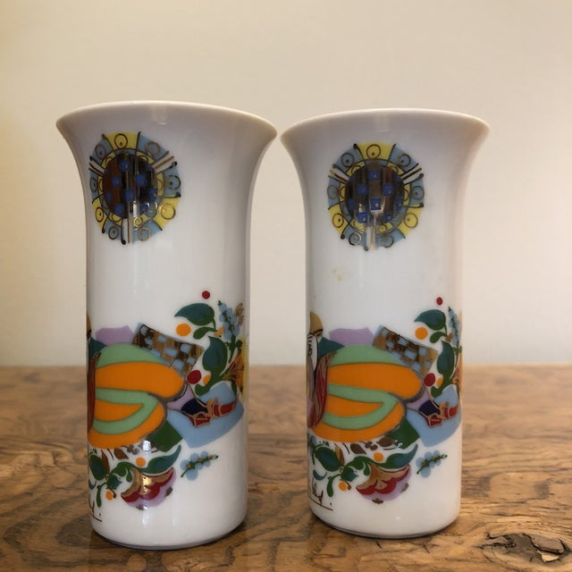 Pair of Cordial Glasses by Bjorn Wiinblad For Sale In Richmond - Image 6 of 11