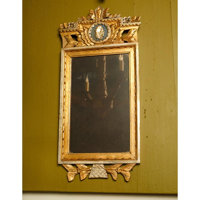 Neoclassical Swedish Mirror For Sale - Image 6 of 6