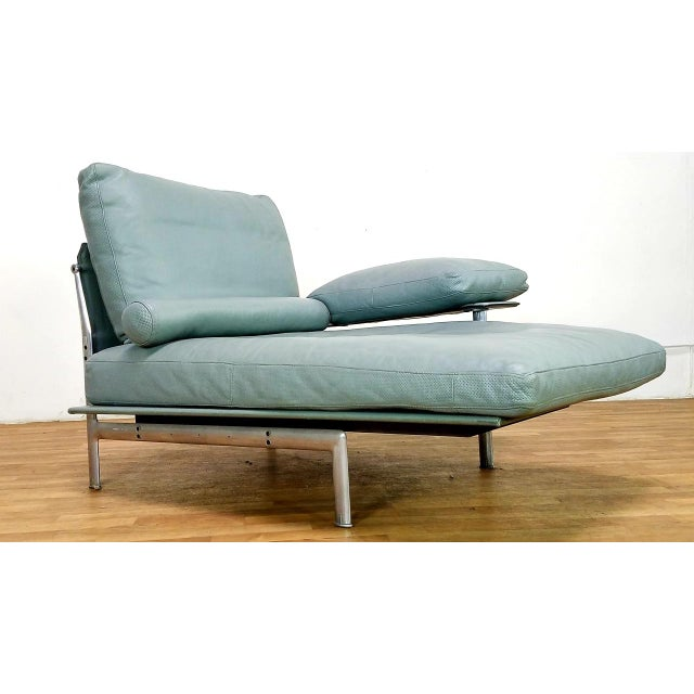 1970s Paolo Nava for B&B Italia Diesis Beige Leather Chaise For Sale - Image 5 of 13