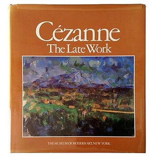 'Cezanne: The Late Work' Hardcover For Sale