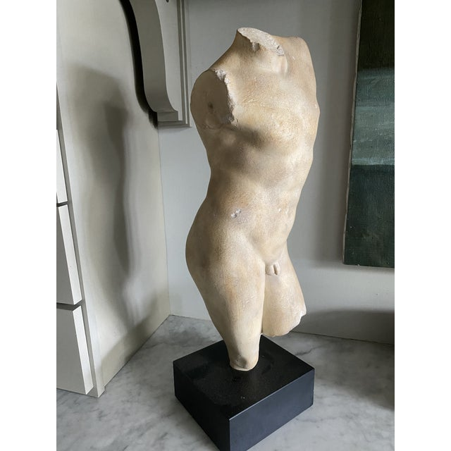 Sculpture on Stand of a Male Body For Sale In New York - Image 6 of 6