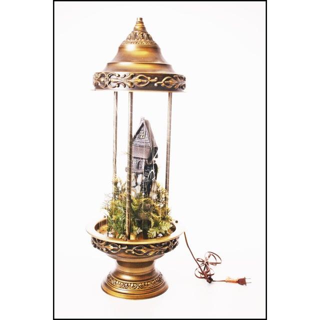 Mid Century Hollywood Regency Mineral Oil Rain Lamp - Image 2 of 11