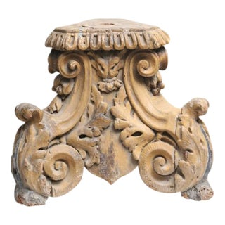 18th-Century Italian Corinthian Column Element For Sale