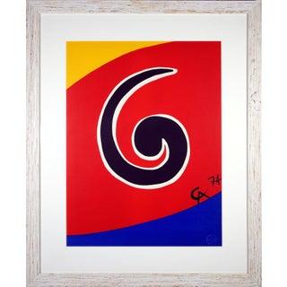 Alexander Calder Sky Swirl Silkscreen