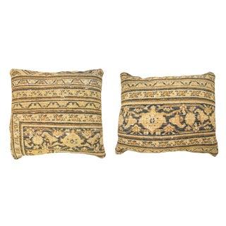 """Antique Art Deco Dorokhsh Pillows, Size 1'8"""" H X 1'2"""" W / 1' 7"""" X 1' 4"""" - a Pair For Sale"""