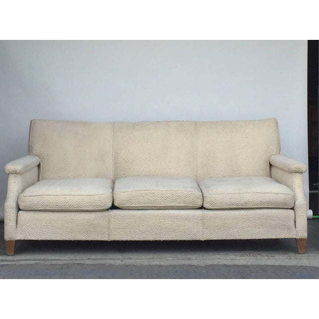 1950s 1950s Vintage French Sofa For Sale - Image 5 of 7